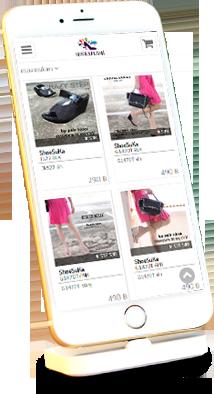 Mobile E commerce Website