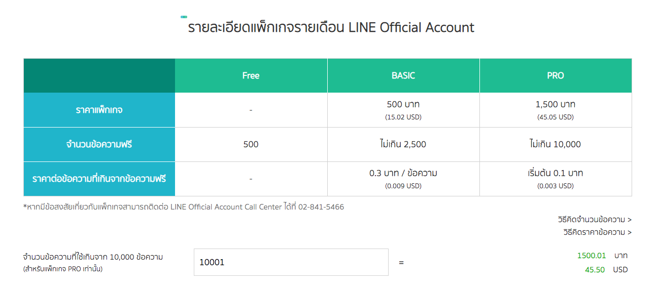 LINE Package